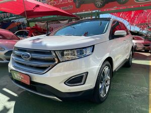 Ford Edge 3.5 Titanium AWD V6 Branco 2017