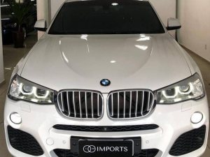 BMW X4 3.0 M SPORT TURBO Branco 2015