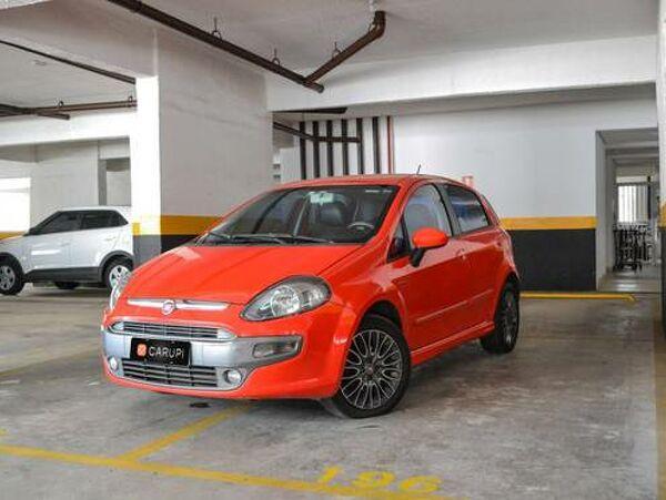 FIAT PUNTO 1.8 SPORTING Vermelho 2013