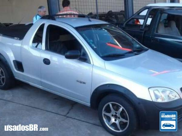 Foto do veiculo CHEVROLET MONTANA 1.8 CONQUEST 8V Prata 2004