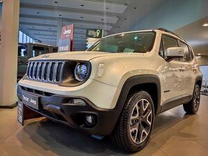 Jeep Renegade 1.8 Longitude Branco 2021