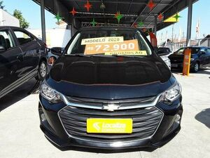 Chevrolet Onix 1.0 Turbo Plus LT Preto 2020