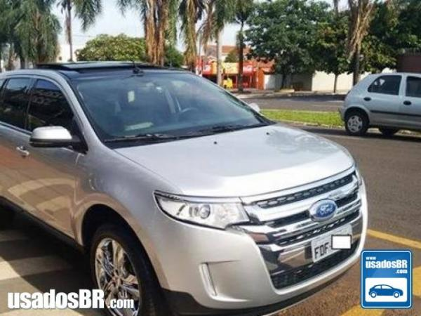 FORD EDGE 3.5 LIMITED AWD V6 Prata 2013