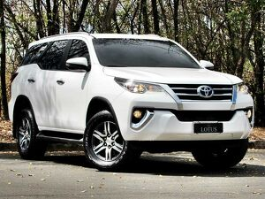 Toyota Hilux SW4 2.7 SR Branco 2019