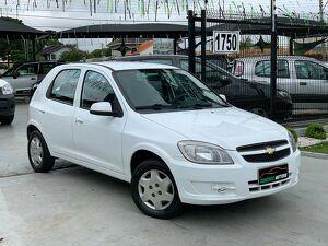 Chevrolet Celta 1.0 LT 8V Branco 2013