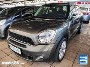 MINI COUNTRYMAN 1.6 S ALL4 TURBO Cinza 2014