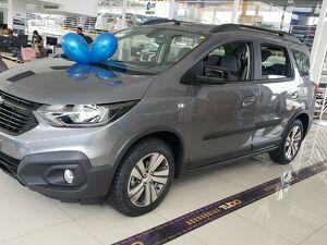 Chevrolet Spin 1.8 Activ7 Cinza 2022
