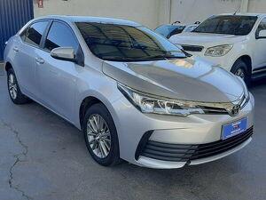 Toyota Corolla 1.8 GLI Prata 2019