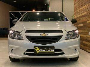 Chevrolet Onix 1.0 Joy 8V Cinza 2019