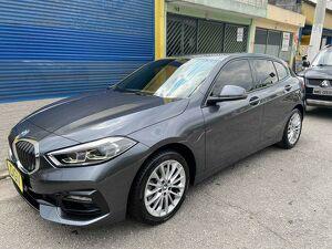 BMW 118i 1.5 Sport GP Cinza 2020
