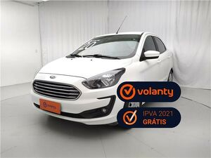 Ford KA 1.5 SE Plus 16V Branco 2020