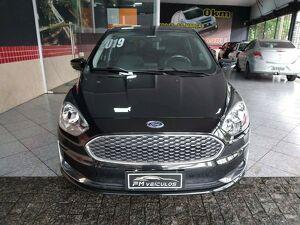 Ford KA 1.5 Titanium Preto 2019