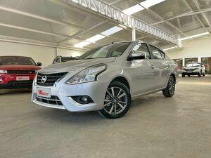 Nissan Versa 1.6 SL Prata 2020