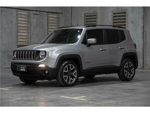 Jeep Renegade 1.8 Longitude Prata 2019