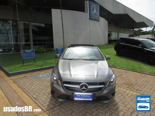 MERCEDES-BENZ CLA 200 1.6 FIRST EDITION TURBO GASOLINA 4P AUTOMATIZADO Cinza 2014