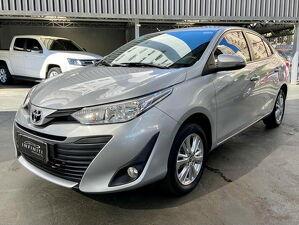 Toyota Yaris 1.5 XL Plus Tech Multidrive Prata 2019