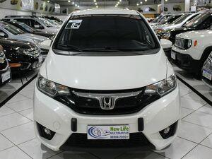 Honda FIT 1.5 EX Branco 2016