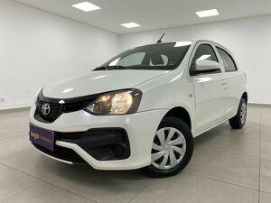 Toyota Etios 1.3 X Branco 2019