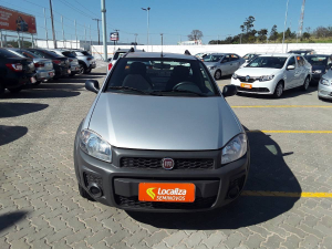 FIAT STRADA CE 1.4 HARD WORKING Prata 2019