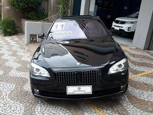 BMW 750i 4.4 Luxury V8 Preto 2011