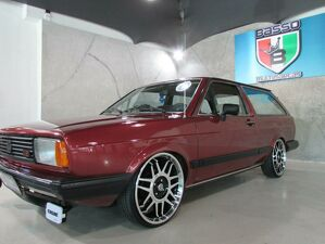 Volkswagen Parati 1.6 Plus Vermelho 1986