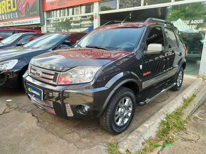 Ford Ecosport 1.6 Freestyle Cinza 2011
