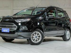 Ford Ecosport 1.6 SE 16V Preto 2017