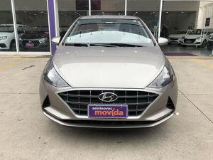 Hyundai HB20S 1.0 12V Vision Prata 2020