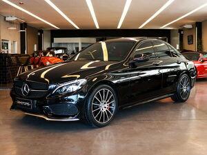 Mercedes-benz C 450 3.0 AMG Sport Bluedirect V6 Preto 2016