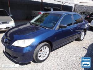 HONDA CIVIC 1.7 LX Azul 2004