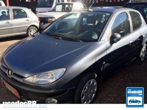 Foto do veiculo PEUGEOT 206 1.4 PRESENCE Cinza 2008