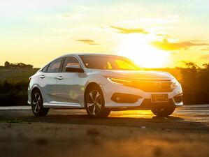 Honda Civic 1.5 Touring Turbo Branco 2017