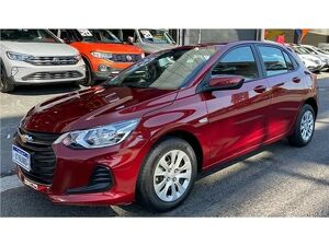 Chevrolet Onix 1.0 LT 8V Vermelho 2020