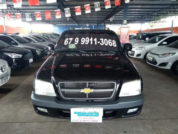 CHEVROLET S10 2.4 ADVANTAGE 8V Preto 2008