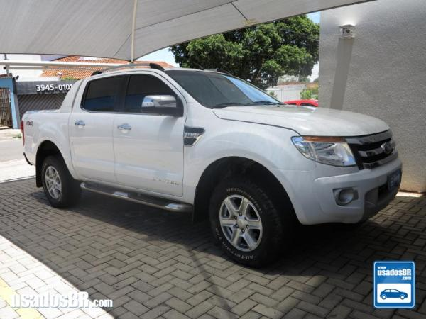 FORD RANGER 3.2 LIMITED 20V Branco 2015