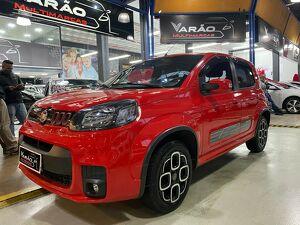 Fiat Uno 1.3 Firefly Sporting Vermelho 2016