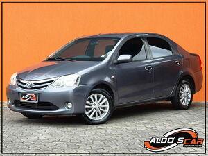 Toyota Etios 1.5 XLS Cinza 2013
