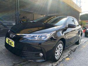 Toyota Corolla 1.8 GLI Upper Preto 2018