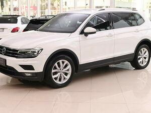 Volkswagen Tiguan 1.4 250 TSI Allspace Comfortline Branco 2018
