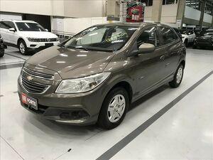 Chevrolet Onix 1.0 LT 12V Cinza 2014