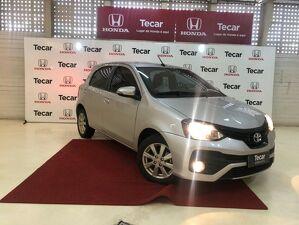 Toyota Etios 1.5 X Plus 16V Prata 2019