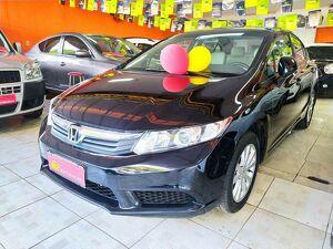 Honda Civic 1.8 LXS Preto 2013