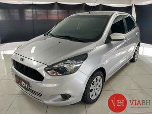 Ford KA 1.5 SE 16V Prata 2018