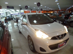 NISSAN MARCH 1.0 S Branco 2019