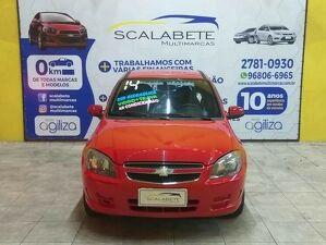 Chevrolet Celta 1.0 LT 8V Vermelho 2014