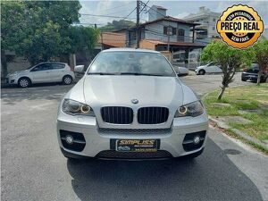 BMW X6 3.0 35I 6 Cilindros Prata 2012
