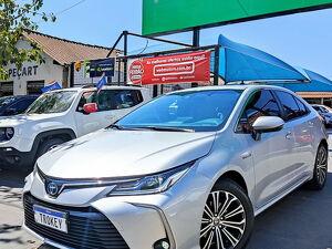 Toyota Corolla 1.8 Altis Premium Hybrid Prata 2021