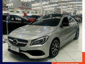 Mercedes-benz CLA 250 2.0 Sport Turbo Prata 2017