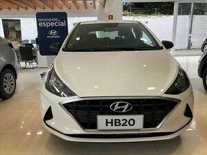 HYUNDAI HB20 1.0 12V SENSE Branco 2021