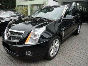 Cadillac SRX 3.6 Premium Collection AWD V6 Preto 2011